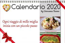 Calendario 2020 di Mangia senza Pancia