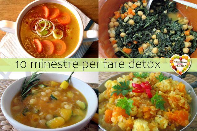 10 minestre per fare detox