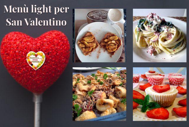 Menù light per San Valentino, Mangia senza Pancia