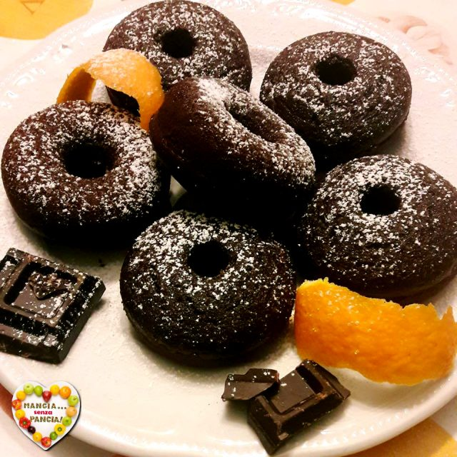 Torta cioccolato e arancia, menù lgiht per San Valentino, Mangia senza Pancia