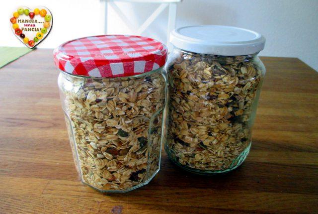 Granola fatta in casa nella friggitrice ad aria, Mangia senza Pancia