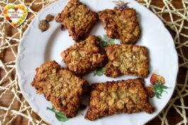 Biscotti avena e burro di arachidi
