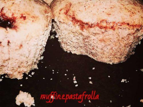 Muffin Integrali al Farro Con Gocce Di Marmellata