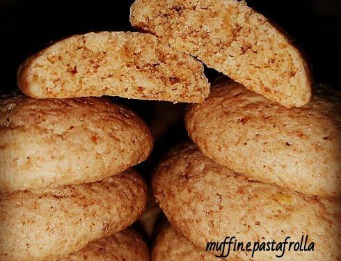 Biscotti all'avena  e farro integrali