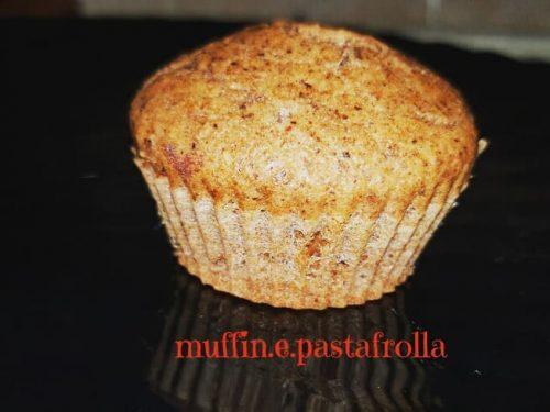Muffin alle mandorle con albumi
