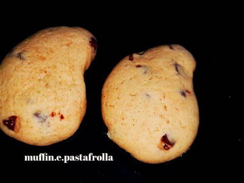 Biscotti gocciole senza burro