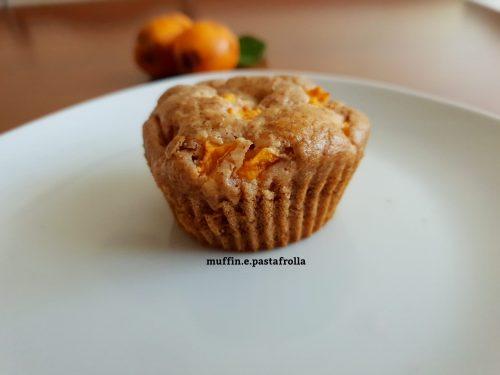 Muffin vegani alle nespole