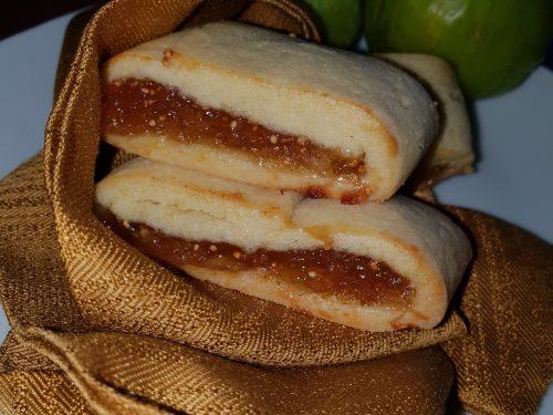 Biscotti settembrini con marmellata istantanea di fichi freschi e lime
