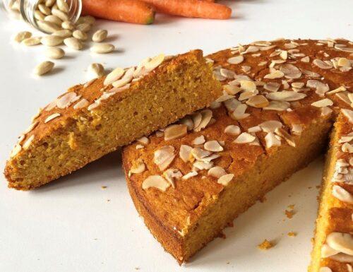 Torta carote e mandorle (senza glutine)