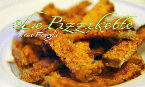 Le pizzikette ricetta stuzzichini