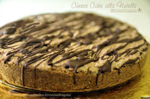 Cheese cake alla nutella con sorpresa
