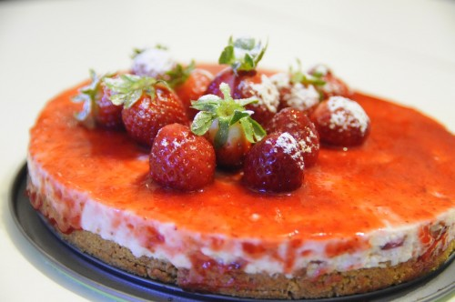 Cheese-cake-alle-fragole-immagine