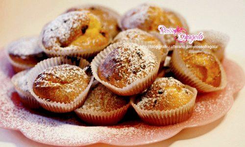 Muffin con gocce di cioccolato - ricetta facile
