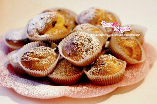Muffin con gocce di cioccolato – ricetta facile