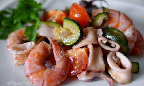Zuppa di calamari e gamberi – ricetta gustosa