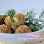 Arancini al verde con pesto di zucchine