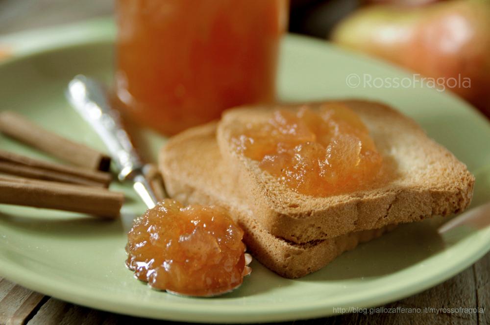 confettura mele e pere alla cannella