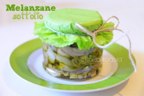 melanzane sott'olio - ricetta facile