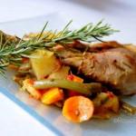 Pollo aromatico all'ortolana -...