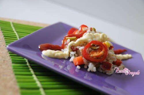 Insalata di riso al peperoncino
