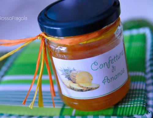 Confettura di ananas fatta in casa