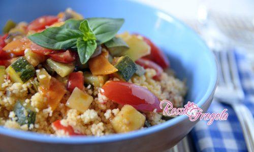 Cous cous alle verdure – ricetta light ma sfiziosa!