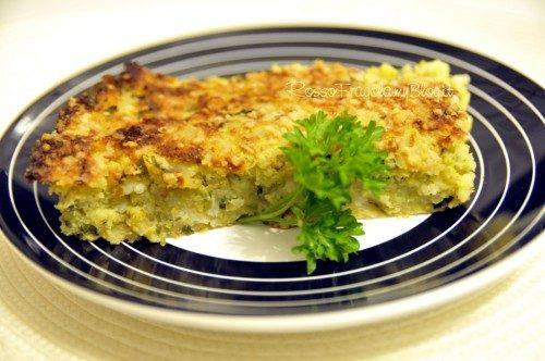 Gratin di patate e zucchine con mix di aromi
