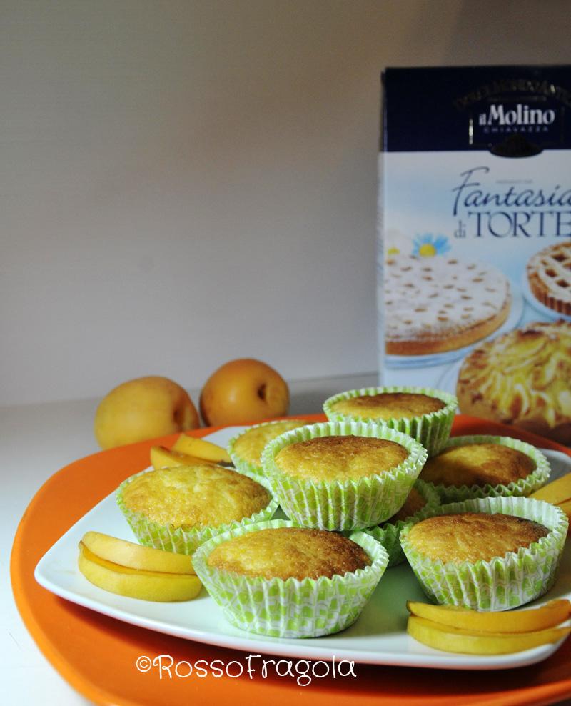 muffin all'albicocca