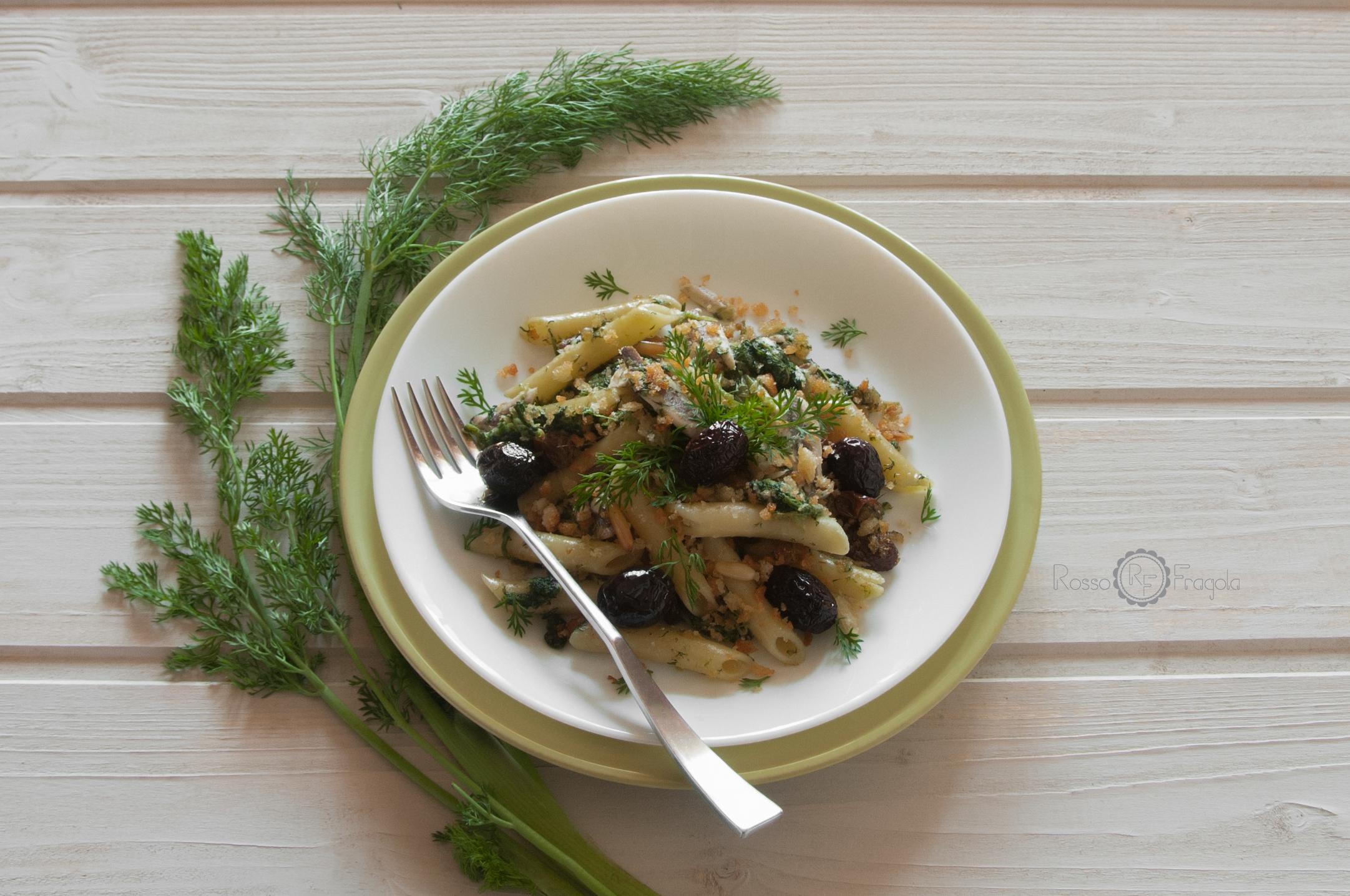 Pasta con le sarde alla siciliana