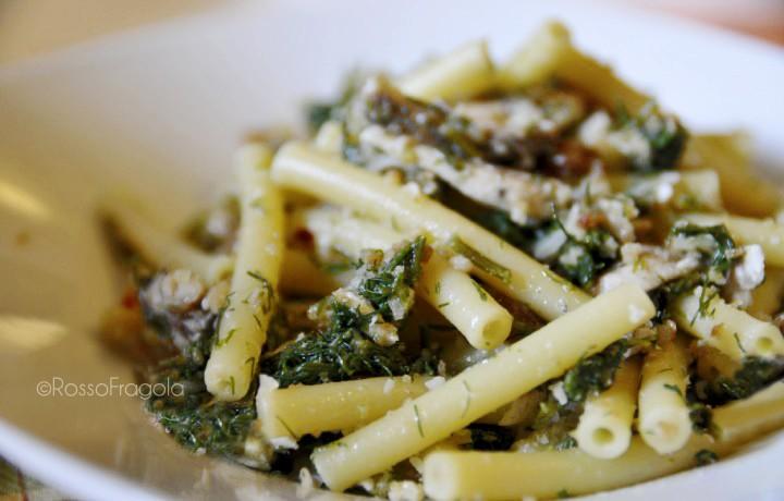 Pasta con asparagi ricetta sarda