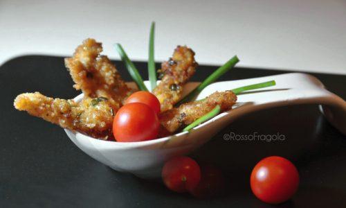 Bastoncini di pollo alla paprika