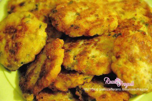 Frittelle di patate aromatiche