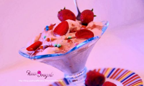 Gelato di yogurt alla fragola