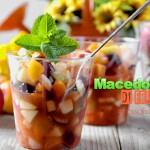 Macedonia di frutta... rinfres...