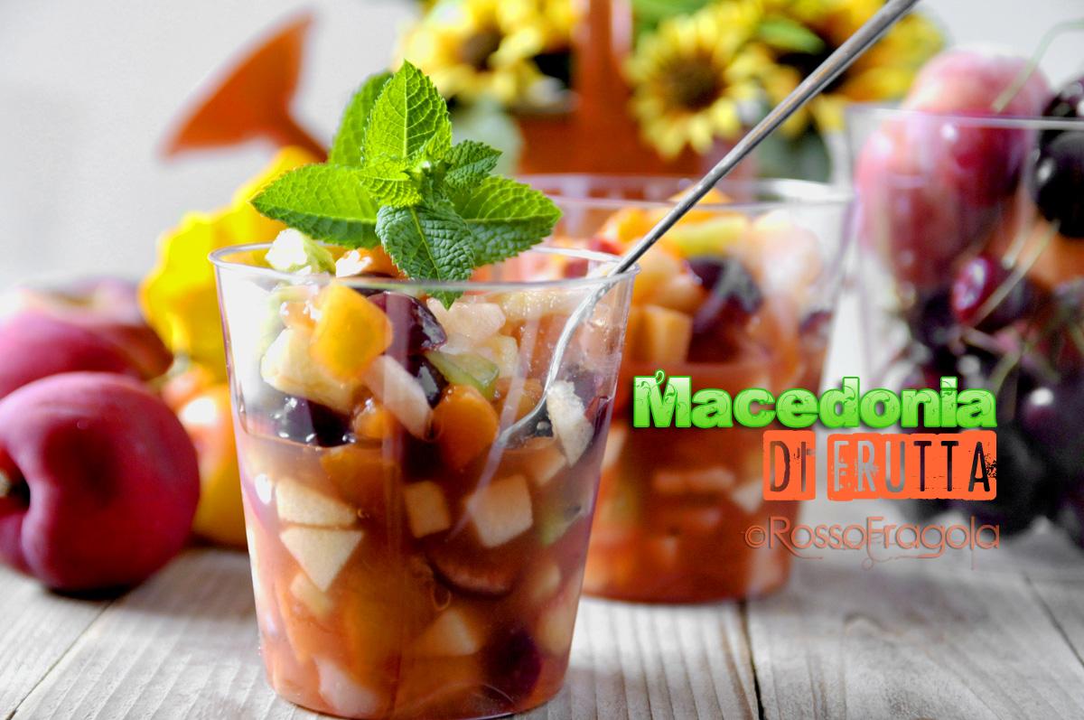 _macedonia di frutta