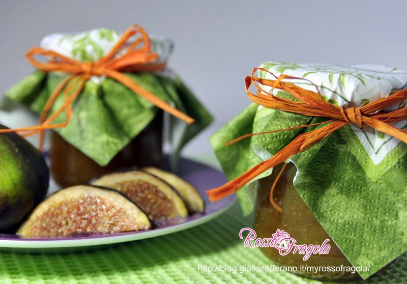salsa di fichi - confettura di fichi - marmellata di fichi