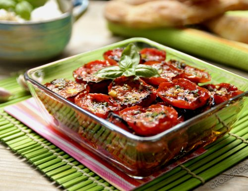 Pomodori confit – ricetta sfiziosa