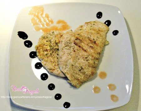 Scaloppine di pollo agli aromi