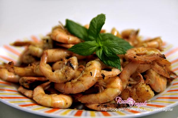 Gamberi alla piastra ricetta facile e sfiziosa rosso for Gamberi alla piastra cinesi