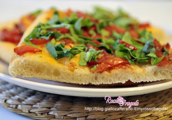 -pizza con albumi senza forno
