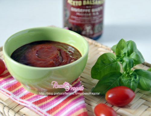 Salsa ketchup homemade