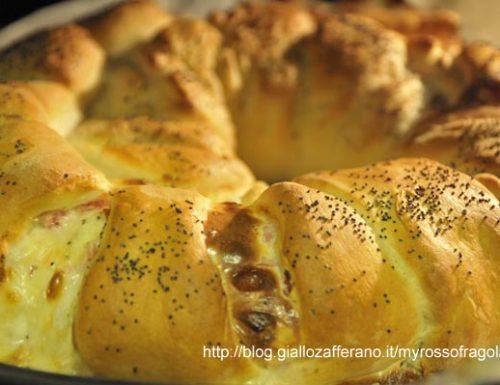 Pan Brioche al prosciutto e formaggio