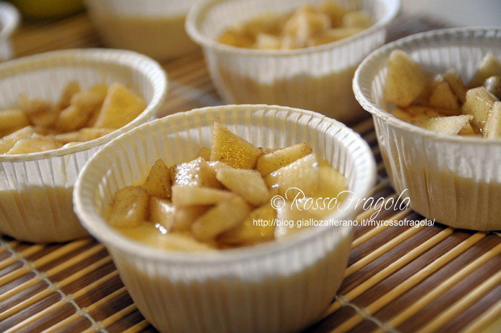 _muffin allo yogurt con mele e cannella