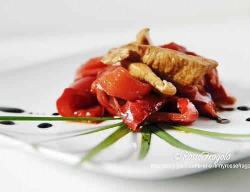Pollo e peperoni all'aceto balsamico