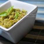 Pesto di zucchine e tonno