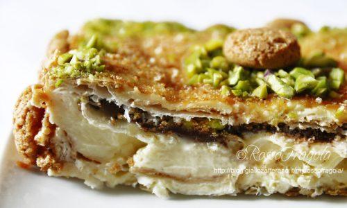 """""""Peccato di gola"""" – Torta Diplomatica con nutella nascosta"""