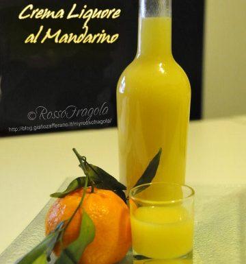 Crema liquore al mandarino
