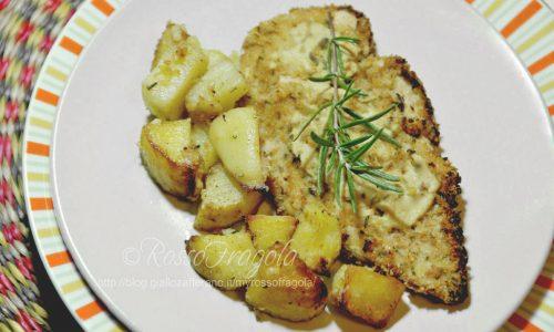 Pollo alla senape con patate