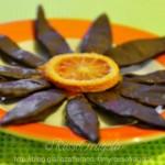 Scorze di arancia al cioccolat...
