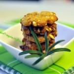 Salatini alla paprika e riso soffiato